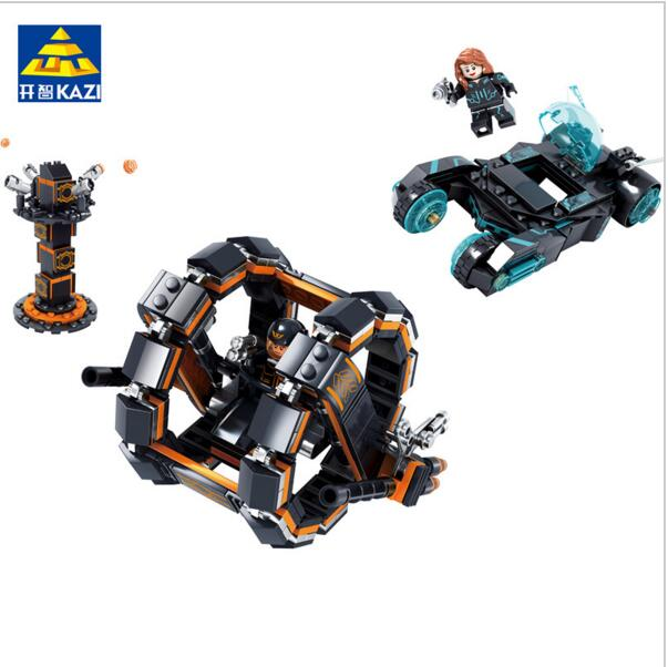 KAZI Building Blocks K6603 464pcs Technic Future Police Model Building Kits Model Toy Bricks Toys Hobbies Blocks kazi building blocks k87011 608pcs pirates black pearl model building kits model toy bricks toys hobbies blocks