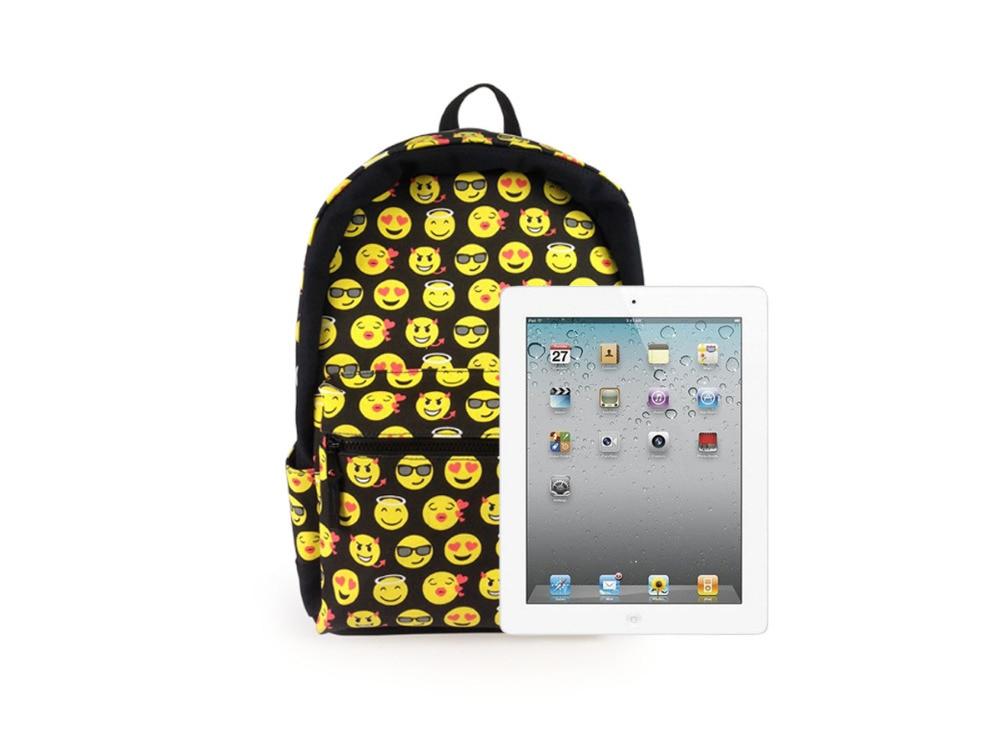 Aliexpress.com : Buy New Fashion Designer Backpack Smiling Face ...