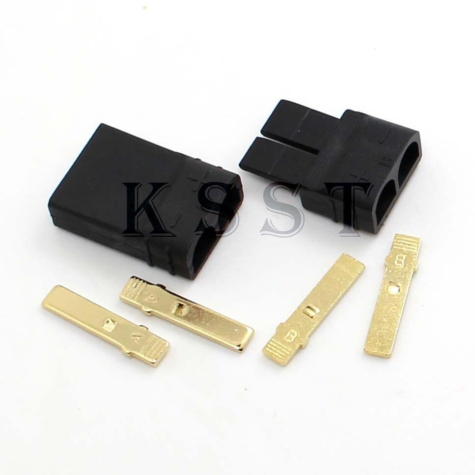 Envío Gratis 5 Juegos (10 uds) TRX/Traxxas conector de clavija Lipo/NiMh ESC batería RC conector