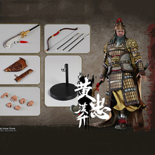 For Collection 1/6 Scale THREE KINGDOMS SERIES-HUANG ZHONG A.K.A HANSHENG Figure Toy Colletible Model Toys