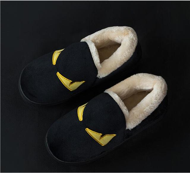 Free Shipping Large size men shoes Monster 2017 winter  Europe  United States new warm home cotton slippers thickened 39-44