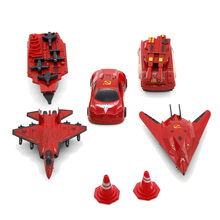 6PCS Command Conquer Red Alert 3 Video Games Toy Car Aircraft Ferry tank aircraft carrier  Alloy Toys Birthday Christmas Gift