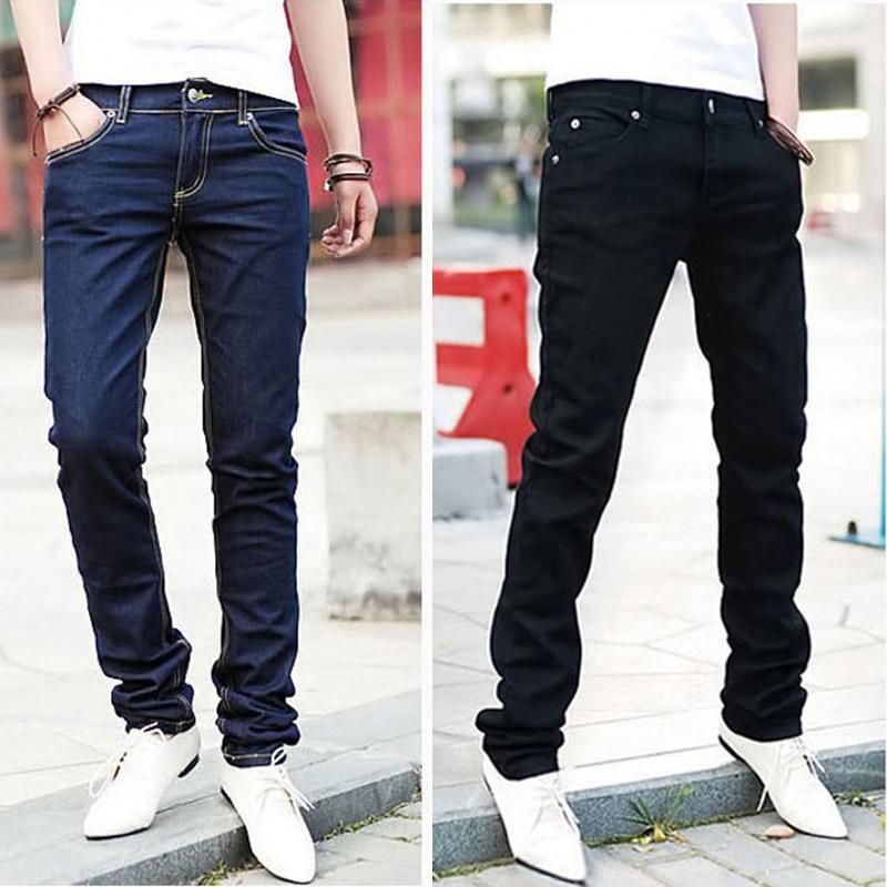 Aliexpress.com : Buy Men Casual Jeans Pencil Pants Stylish ...