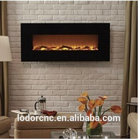 Free Shipping To Canada Wall Mounted Master Flame Electric Fireplace