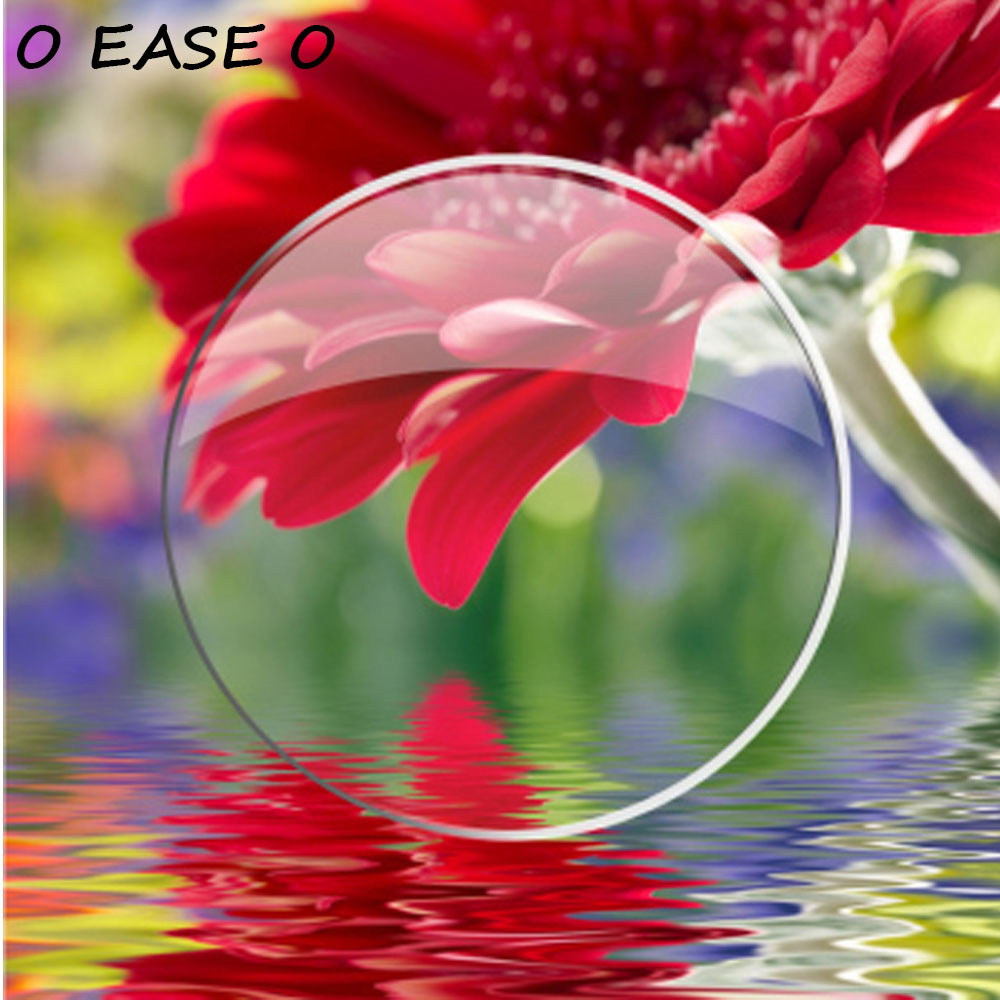 1.74 Aspheric Super Hydrophobic Lenses Antifouling Anti-Static U2 Coating With Lens Cut And Frame Fitting Service Brand Lenses