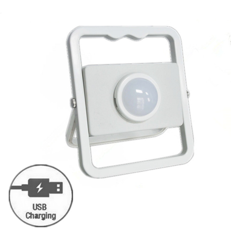 TAIYI New Product 12pcs SMD 10W COB LED Portable Work Light Rechargeable Floodlight +USB Charger +Dimmable +SOS
