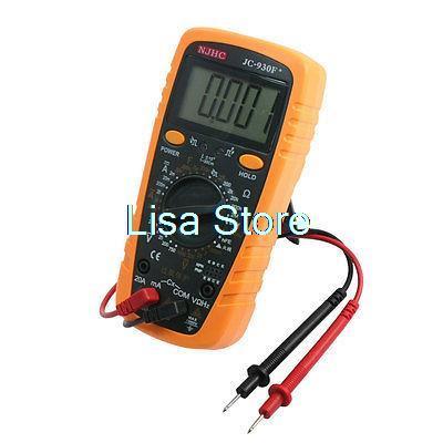 JC-930F Voltage Current Frequency Capacitance Resistance Digital Multimeter jc 930f ac dc voltage current resistance capacitance digital multitester