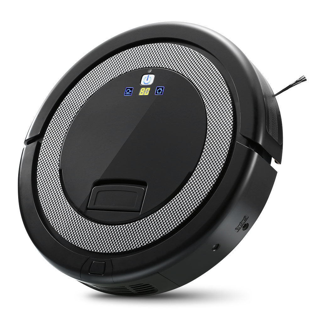 Robot Aspirateur Auto recharge Automatique Balayer La Poussière Stériliser Smart Prévues Télécommande Aspirateur 5 mode pour La Maison