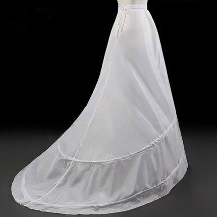 2 Hoops A-line Wedding Petticoat Crinoline Slip Underskirt For Wedding Dress Wedding Accessories