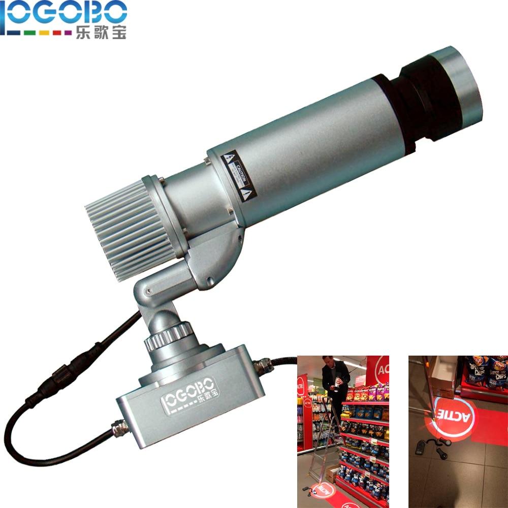 Cheap DJ Custom Glass Logo Image Pattern Gobo Projector Lighting 20W LED for Wedding or Advertising Vivid LED Night Signs Lamp
