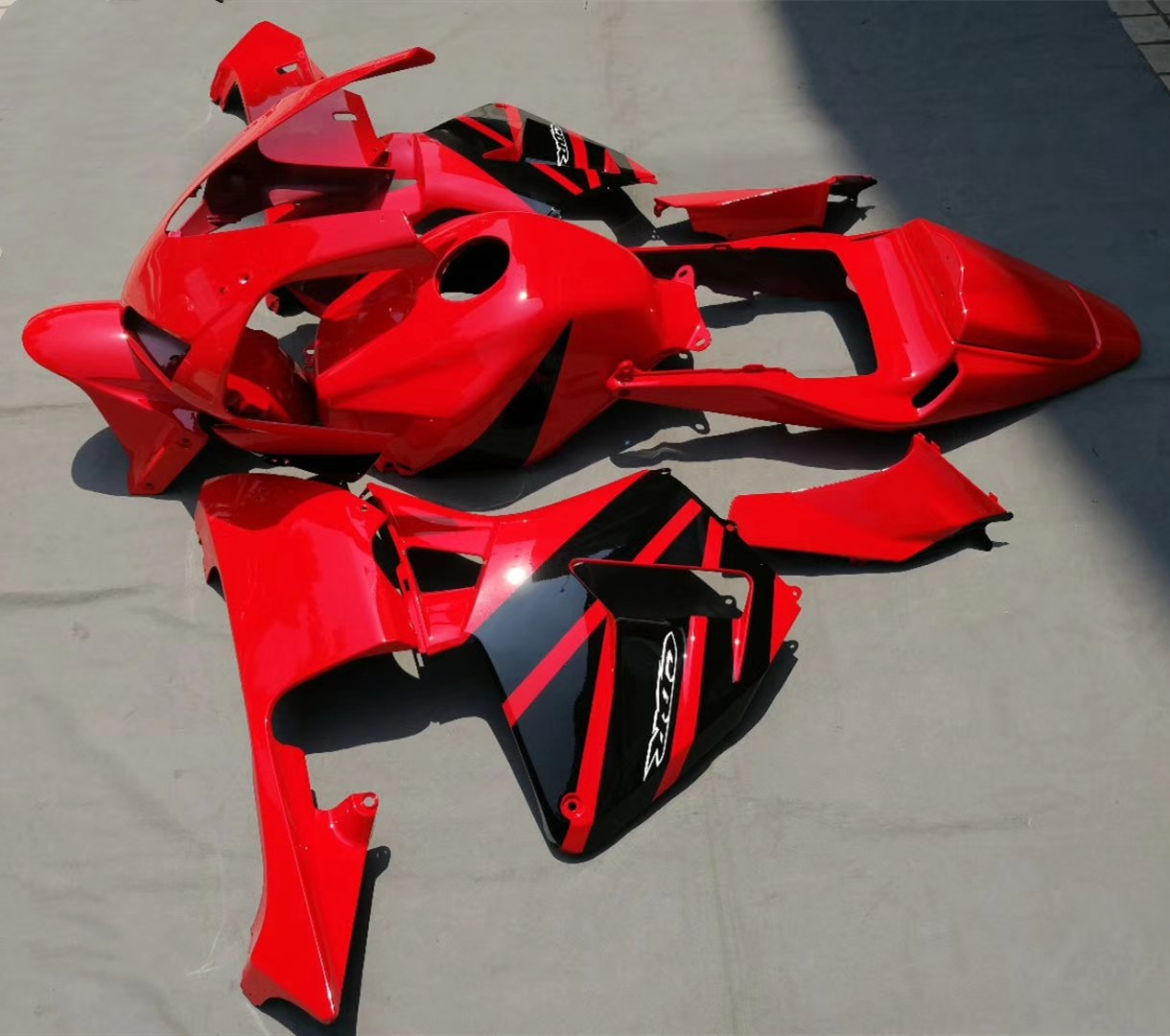 Motorcycle Injection Mold Fairing Kit For Honda CBR600RR CBR 600RR 2003 2004 CBR600 RR CBR 600 RR 03 04 Red Fairings Bodywork unpainted tail fairing kit rear for honda cbr600rr cbr 600 rr 2003 2004 cbr600 cbr 600rr 03 04 motorcycle frame injection mold
