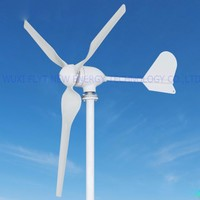 400w wind turbine Max power 600w 5 blades small wind mill low start up wind generator with water proof wind controller