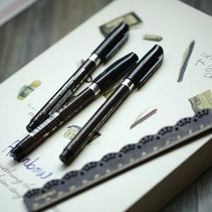 Image 5 - 30 cái/lốc trung quốc thư pháp bàn chải bút Nhật Bản chất liệu Vẽ nguồn cung cấp nghệ thuật Văn Phòng Phẩm trường học cung cấp papelaria caligrafia F867
