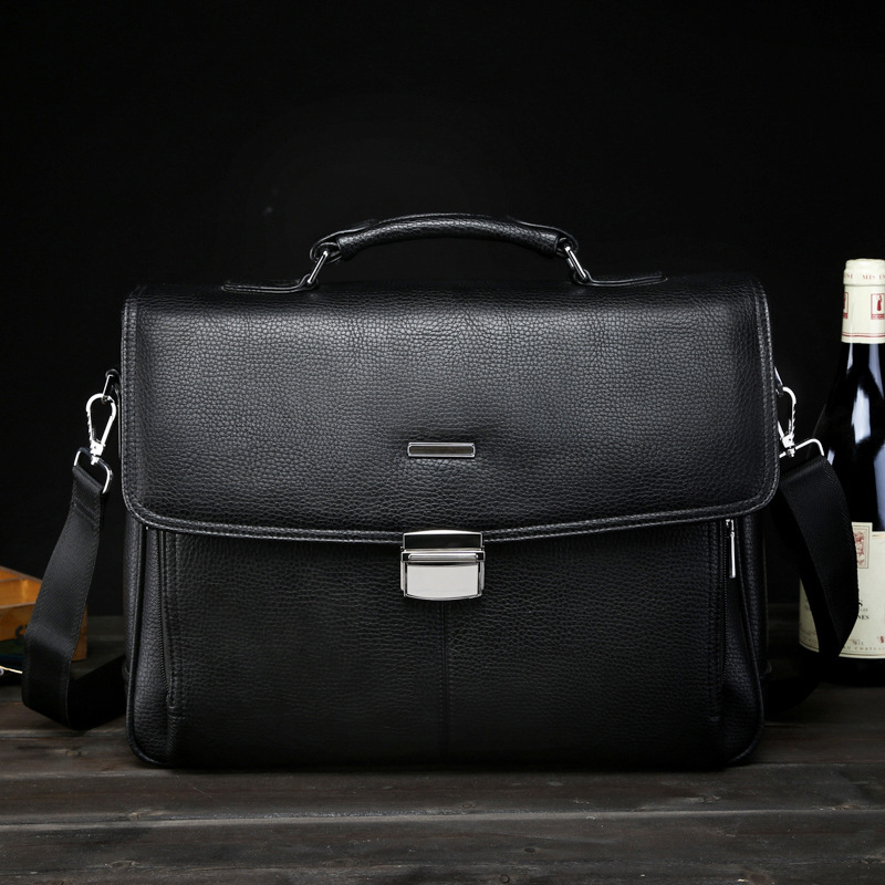 Men's Business Computer Bag Briefcase Men's Messenger Bag Foreign Trade OEM Lock плед foreign trade 200 220cm