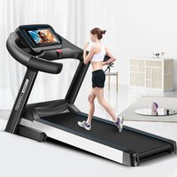 Multi function Folding Electric Treadmill for Home Silent 52cm Conveyor Belt Household weight loss Walking Fitness Equipment