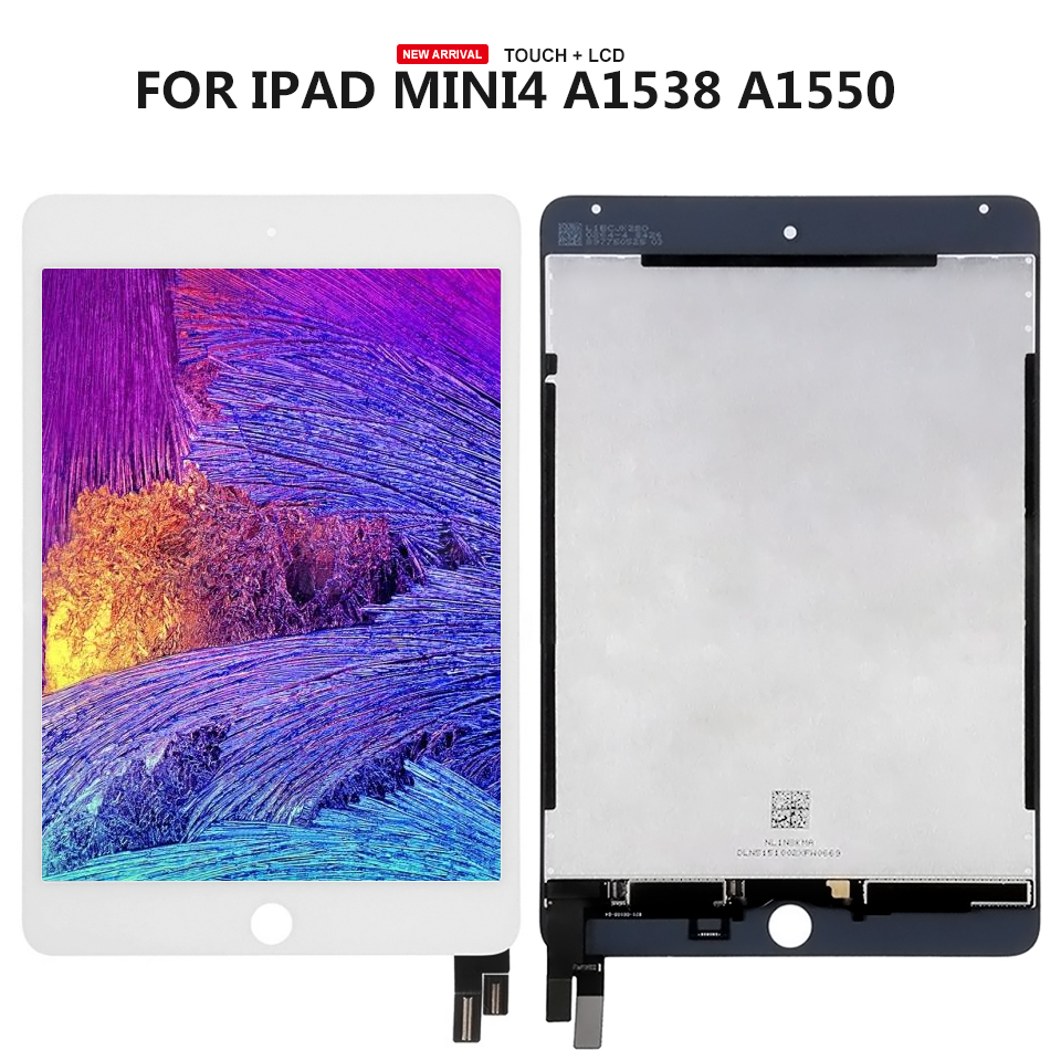 7.9 pouce Pour ipad mini4 A1538 A1550 Écran lcd + Écran Tactile Assemblée Outils Gratuits