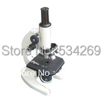 40-640X Monocular 45 degree Inclined Biological Microscope with natrual Light 360 Degree Rotation