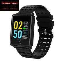 New 2019 F3 Smart Bracelet  Color Screen Heart Rate Blood Pressure Monitoring GPS Track Movement IP68 Waterproof Health Watch