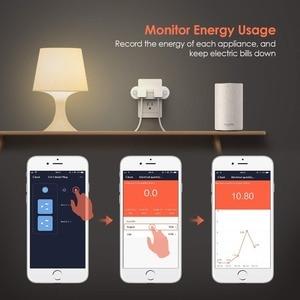 Image 3 - Lonsonho Tuya Ổ Cắm Thông Minh Wifi Ổ Cắm Loại B Mỹ Cắm 16A Công Suất Máy Hoạt Động Với Alexa Google Mini Gia Đình