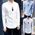 Camisas de los hombres Yang Yang, un Japonés de moda camisas de manga larga Hombre otoño nueva TB con ocio Men's clothing