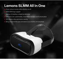 VR All-in-one Virtual Reality Glasses Headset 1920*1080P 5.0 Inch WiFi Bluetooth USB TF Immersive 3D Video Game Movie Headset