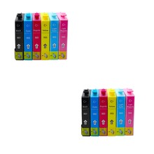 12pcs ink cartridge Luocai for epson T0821-T0826 for Epson Stylus R390/R270/R290/R295/RX590/RX615/RX610/RX690 printer 0821 картридж epson magenta stylus photo r270 r290 rx590 high c13t11134a10