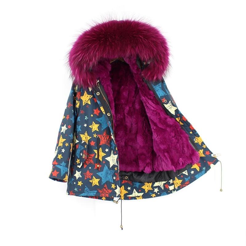 child winter real fur parkas coat (2)
