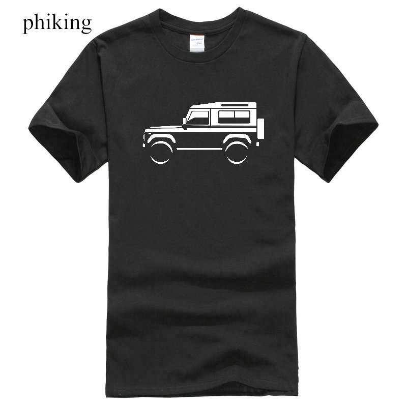 Mens Premium T-Shirt Land Rover Defender 90 Colour Options Uk Seller Novelty Tee Free Shipping