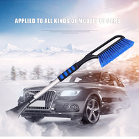 Extension Pole Handle Retractable Winter Car Vehicle Scraper Shovel Snow Removal Tools Brush Wiper Blades Car