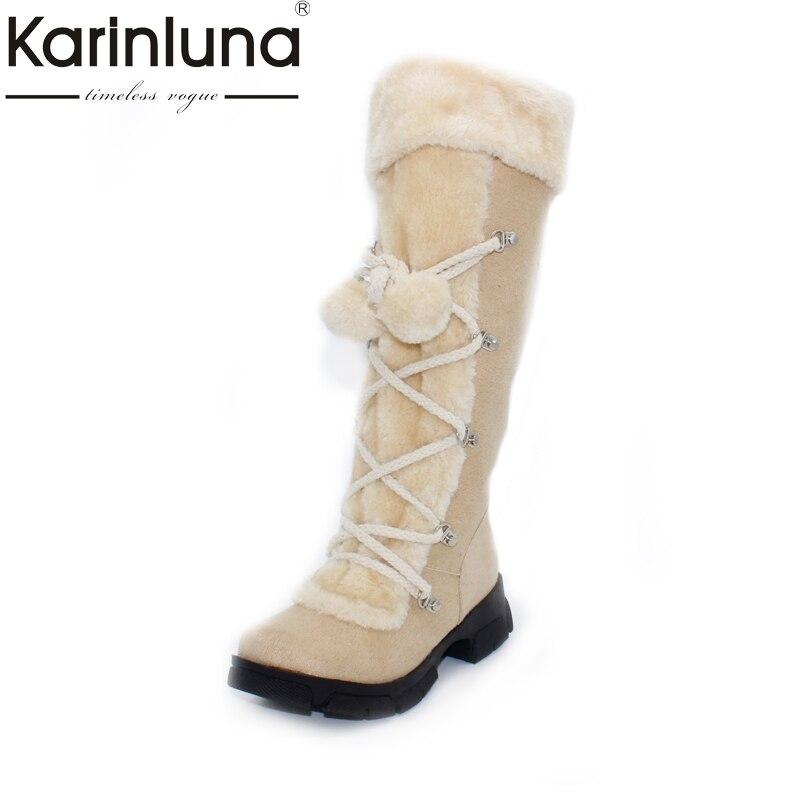Оптовая продажа 2017 Новый Лидер продаж, модные пикантные женские сапоги на платформе женские сапоги до колена зимняя женская обувь теплые зимние сапоги на меху