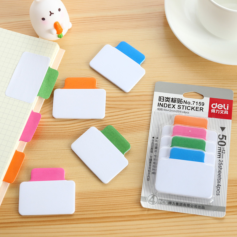 NOVERTY Kawaii colorful Multi-Function Index Sticker Notepad Notebook Memo Pad Self-Adhesive Sticky post Notes Bookmark 01917