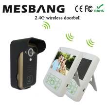 2017 Mesbnag villa  2.4ghz digital wireless intercom video door phone  free shipping