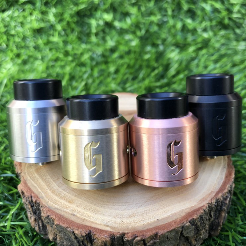 1:1 528 GOON 25 RDA Apocalypse GEN Atomizer With Wide Bore Drip Tip 25mm PEEK Insulators Fit 510 Mods Vs Prince Atomizer