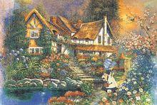 Flower Garden Fluorescent paper puzzle 1000 pieces Noctilucent jigsaw puzzles 1000 for adults kids'custom puzzles
