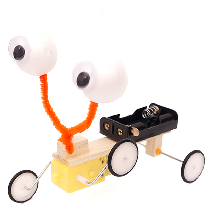 DIY Children's Science Toy Reptile Robot Model Kit Electric Invention Creative Toy Education Gift