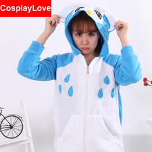 Owl Coral Long Sleeve Animal Adult Hoody Sweatshirts Sweater Cosplay Costume For Party Wear Halloween Christmas Gift