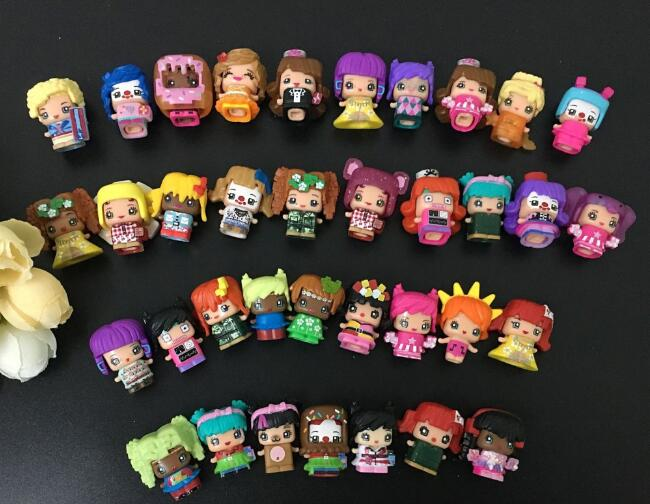 100pcs/500pcs  my mini mixieqs  cartoon toy size 2-2.5cm girl toys several styles random mixed