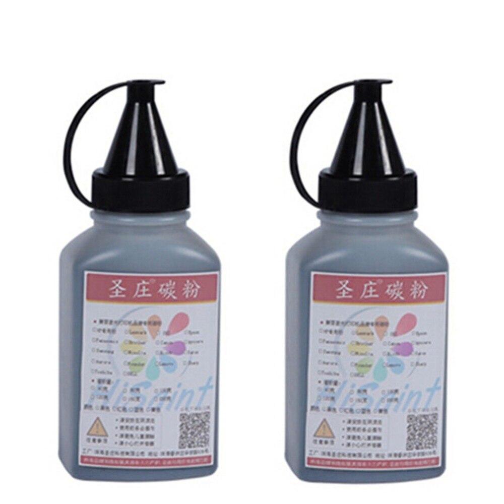2016 New Hot For HP 2613 Q2613A 80G 2Bottle Toner Powder ForHP LaserJet 1300/1300n Real Ink jet Printer