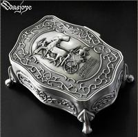 European ancient Egyptian patter metal jewelry box ring box storage boxes jewelry organizer gift boxes for jewelry display Z041