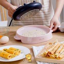 220 В машина для приготовления Спринг-роллов электрическая, для блинов для изготовления блинов машина для выпечки сковорода пирог