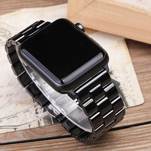 2019 New Butterfly Buckle Ceramic Apple Watchband Suit for iWatch 1/2/3/4/5 Apple Watch Band 38mm 42mm iPhone Watch Band