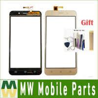 AAA Qualität Für INOI 2 Lite/INOI 2 Touch Screen Sensor Glas Digitizer Schwarz Gold Farbe Mit Werkzeuge & BAND Für Freies