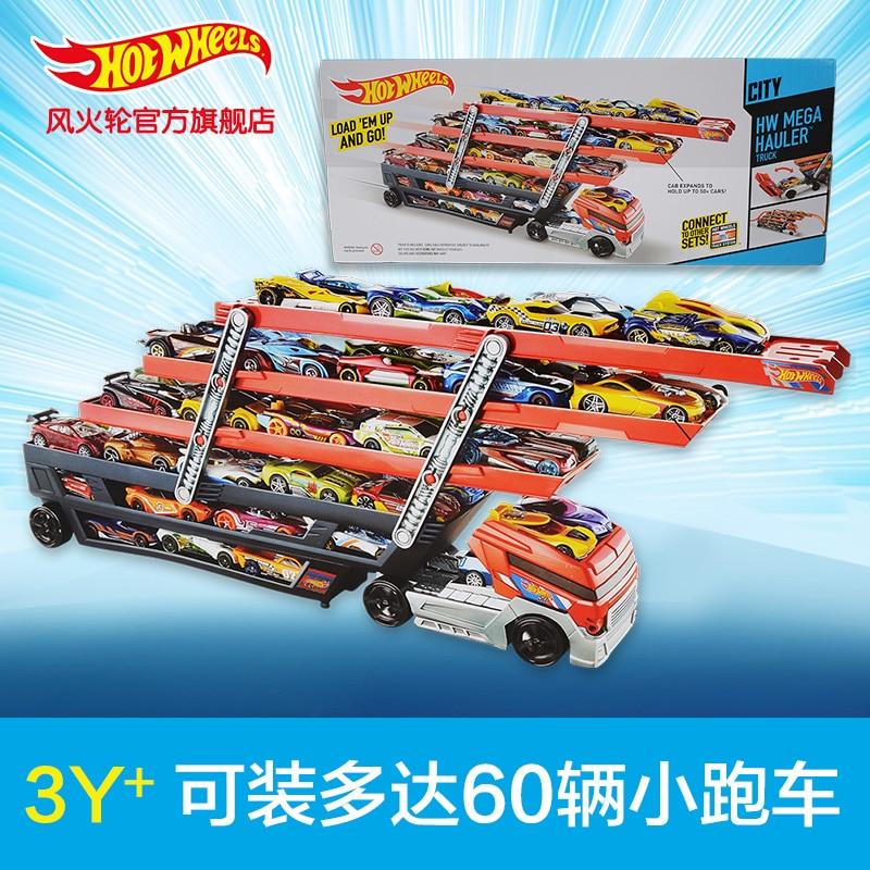 Hotwheels Heavy Truck Ckc09 Toy Car Hold Truck Boys