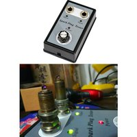 Dual Hole Car Spark Plug Tester Ignition Plug System Analyzer Diagnostic Coil Engine In Line Auto Diagnostic Test Tool