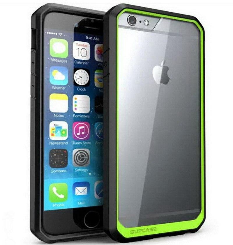9ae4611264 のためのiphone 7/6/6 sプラスcase耐震アーマーcase用apple iphone 7 6 6  sプラス透明プロテクト画面バックカバーfunda