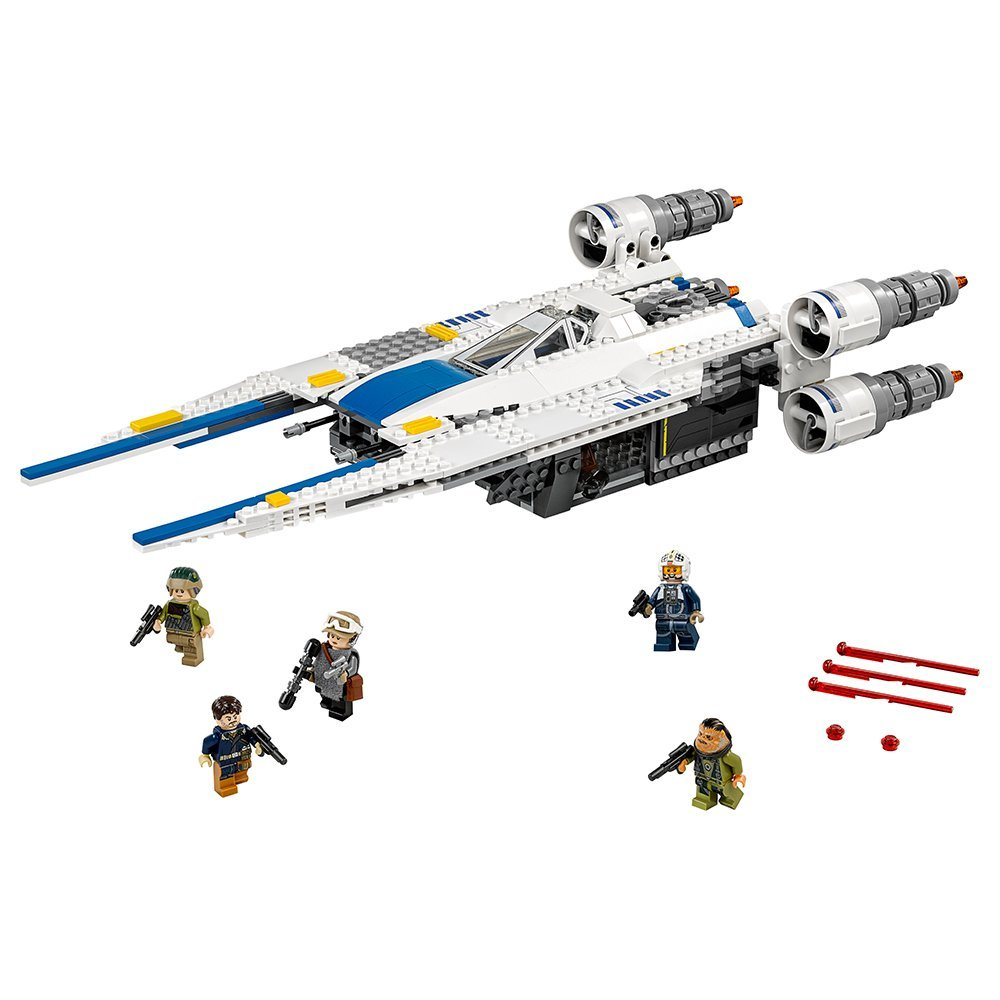 Lepin 05054 679pcs Star Genuine Series Wars U Star Wing Fighter Set Building Blocks Bricks Educational Kids DIY Child Toys 75155 new 679pcs lepin 05054 genuine star war series the rebel u wing fighter set building blocks bricks toys 75155
