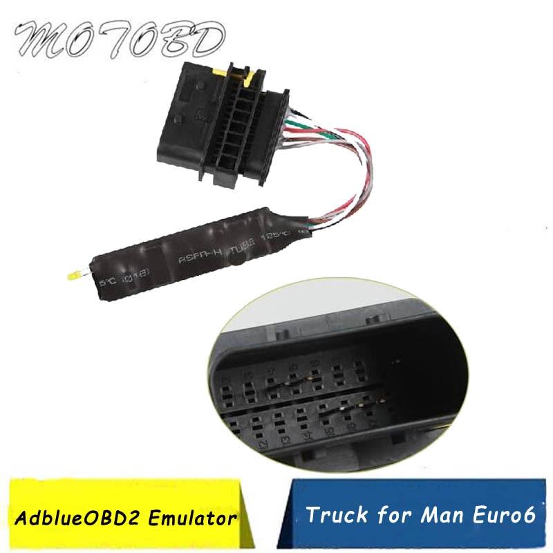 2019 New AdblueOBD2 Emulator For Euro6 Truck Diesel AdblueOBD2 Truck Adblue OBD2 Euro6 Diagnostic Scanner