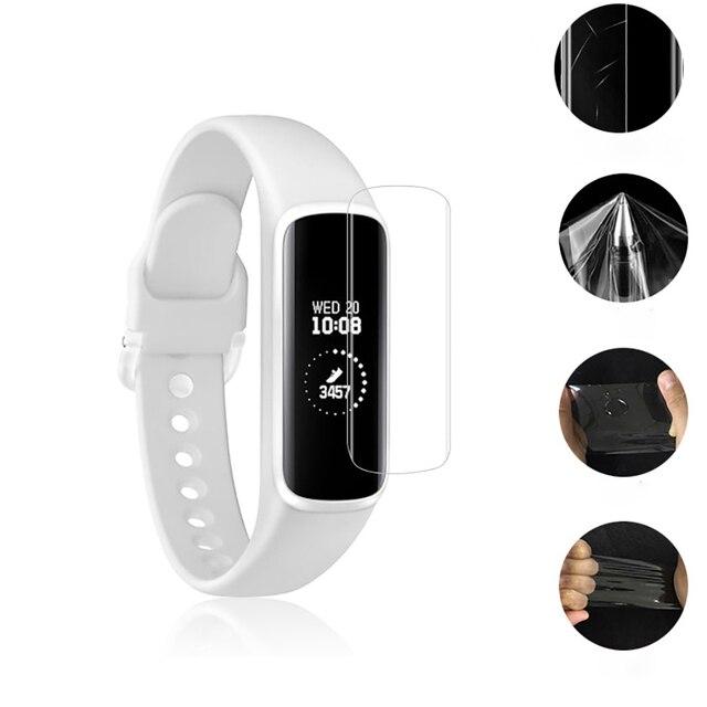 Para Samsung Gear Fit 2/Fit 2 Pro Anti-rayado suave PET Ultra HD película protectora transparente para samsung Gear Fit-R350 Pantalla Completa