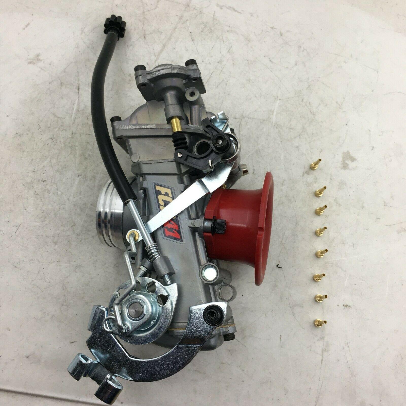 SherryBerg CARB FCR41 Slant Side Carburettor for Honda XR650 FOR Suzuki Husqvarna Yamaha 41MM 41 FCR FCR CARBURETOR vergaser