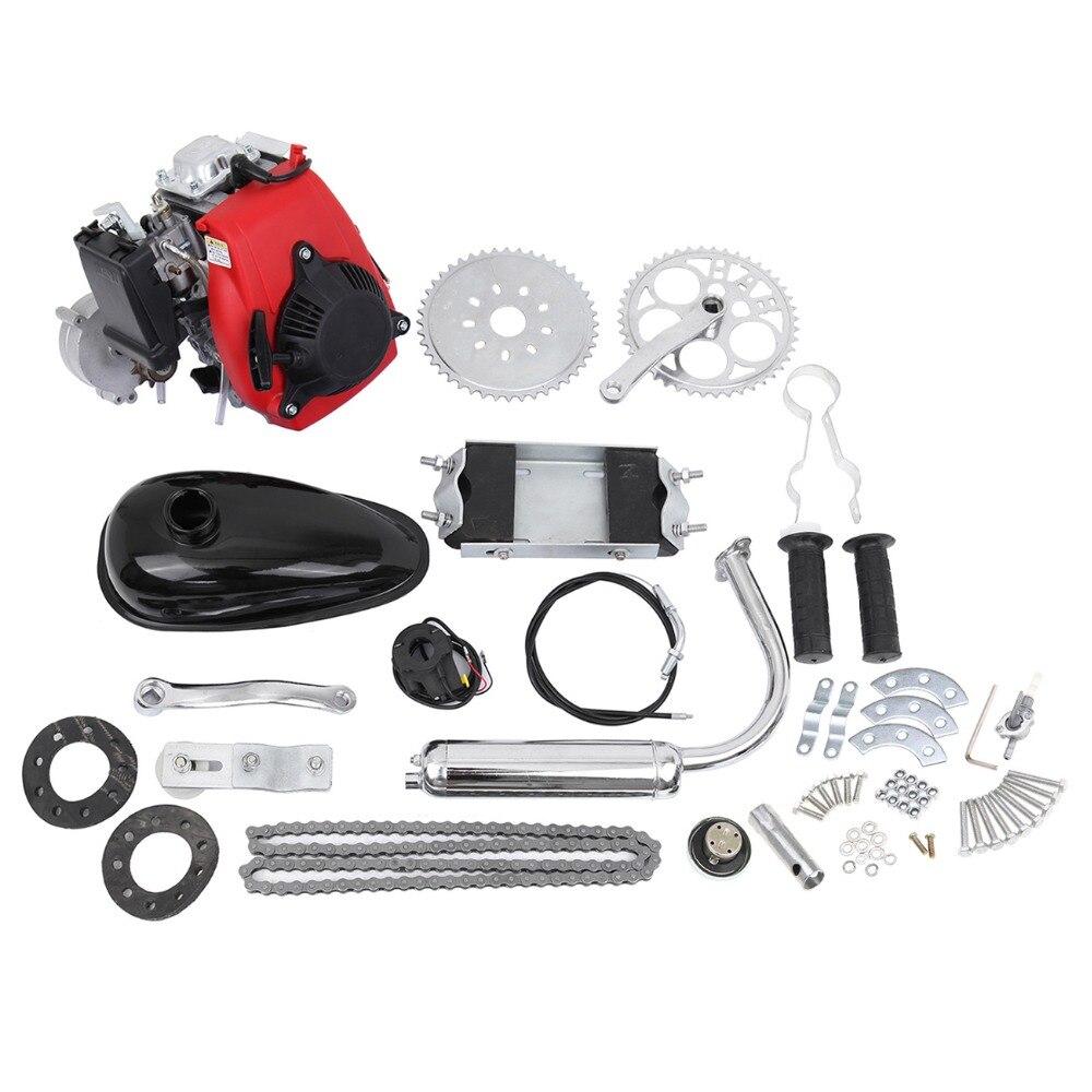 (Verzending vanuit US) 49cc 4 Takt Fiets Gasmotor Motor - Motoraccessoires en onderdelen - Foto 1